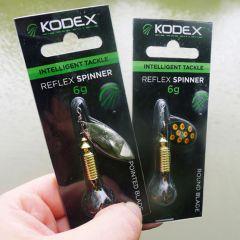 Rotativa Kodex Reflex Spinner Round Blade 3g 4buc/set