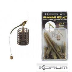Korum Running Rig Kit - Flood Water Brown
