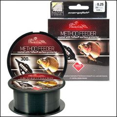 Fir monofilament Carp Expert Method Feeder Teflon Black 0.25mm/8.35kg/300m