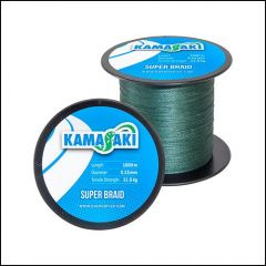 Fir textil Kamasaki Super Braid Green 0.30mm/26.6kg/1000m