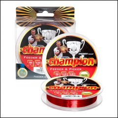 Fir monofilament EnergoTeam Champion Feeder Picker Red 0.14mm/2.75kg/150m