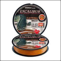 Fir Textil EnergoTeam Excalibur Catfish 8 Yarn Braid Brown 0.50mm/45.45kg/150m