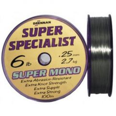 Fir monofilament Drennan Super Specialist 0.30mm/10lb/400m