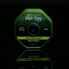Fir leadcore RidgeMonkey RM-Tec Lead-Free Leader 22.7kg/10m Weed Green
