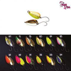 Lingura oscilanta Crazy Fish Lema 1.6g, culoare 32