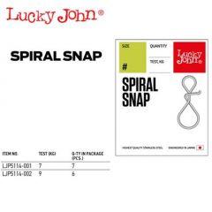 Agrafa Lucky John spiralata 7kg