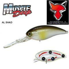 Vobler Jackall Muscle Deep 7+ 5.65cm/13.5gr Al Shad