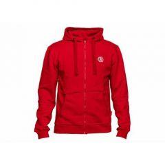 Hanorac Rapala Red Zipper Hoodie L