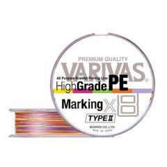Fir textil Varivas High Grade PE Marking Type II X8 0.205mm/31lb/150m