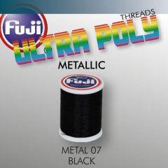 Ata matisaj Fuji Metallic #50/100m- Black 907