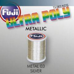 Ata matisaj Fuji Metallic #50/100m- Silver 903
