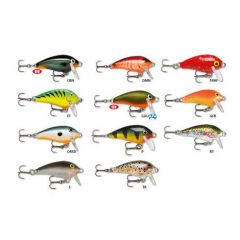 Vobler Rapala Mini Fat Rap 3cm/4g, culoare CBN