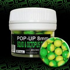 Boilies MG Special Carp Pop-Up Squid&Octopus Pruna 8mm