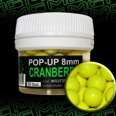 Boilies MG Special Carp Pop-Up Cranberry 8mm