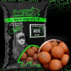Boilies MG Special Carp Birdfood Solubile Miere 20mm