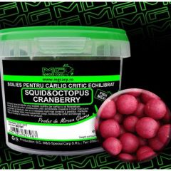 Boilies MG Special Carp Fishmeal Critic Echilibrat Squid&Octopus Cranberry 14,16mm 200gr