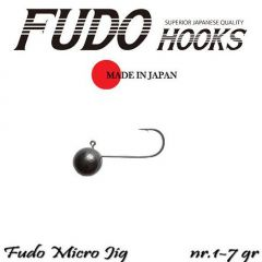 Microjig Relax Spinning bila carlig Fudo nr. 1, 7g, plic 8buc.
