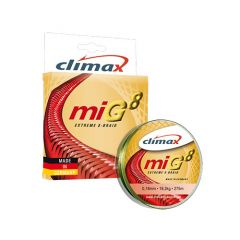Fir textil Climax MIG8 Extreme 8-Braid Olive Green 0.14mm/13.5kg/135m