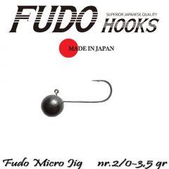 Microjig Relax Spinning bila carlig Fudo nr.2/0, 2gr, plic 7buc.
