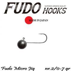 Microjig Relax Spinning bila carlig Fudo nr.2/0, 7gr, plic 7buc.