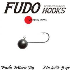 Microjig Relax Spinning bila carlig Fudo nr.4/0, 5gr, plic 7buc.