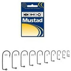 Carlig Mustad jig black nickel nr.5/0 - 100buc/set.
