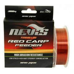 Fir monofilament Nevis Red Carp Feeder 0.22mm