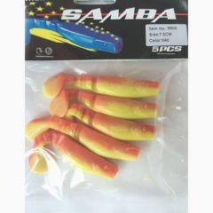 Shad Samba New 7.5cm - culoare 040
