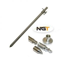 Suport telescopic NGT inox 30-50cm + adaptor ponton 3in1