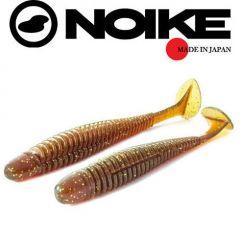 Shad Noike Ninja 10.2cm, culoare Motoroil/Gold