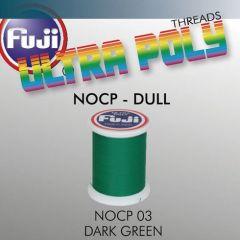 Ata matisaj Fuji Dull #50/100m- Dark Green 003