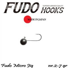 Microjig Relax Spinning bila carlig Fudo nr. 2, 7g, plic 8buc.