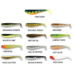Shad Fox Rage Zander Pro 14cm, Salt'N Pepper
