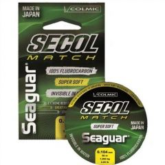 Fir fluorocarbon Colmic Seaguar Secol Match 0.185mm/3.7kg/50m