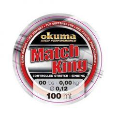 Fir monofilament Okuma Match King 0.12mm/1.2kg/100m