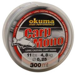 Fir monofilament Okuma Carp Mono 0,35mm/9,2Kg/300m