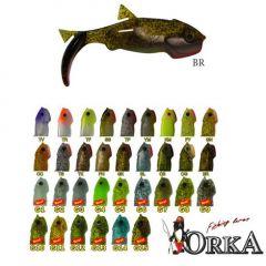 Shad Orka Gegule 7cm, culoare YM  - 5 buc/plic