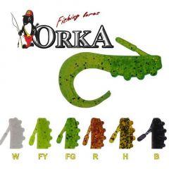 Grub Orka Hammer 7cm, culoare PJ - 10 buc/plic