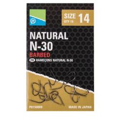 Carlige Preston Natural N-30 Nr.12