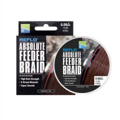 Fir textil Preston Absolute Feeder 0.08mm/6kg/150m