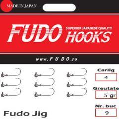 Jig Relax Spinning bila carlig Fudo nr. 4, 5g, plic 9buc.