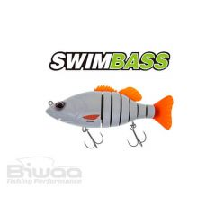 Swimbait Biwaa Swimbass 15cm, culoare Pearl White