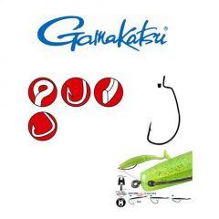 Carlige Gamakatsu offset EWG cu opritor silicon nr.1/0