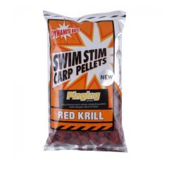 Pelete Dynamite Baits Swim Stim Amino Red Krill Pinging Pellets 13mm 900g