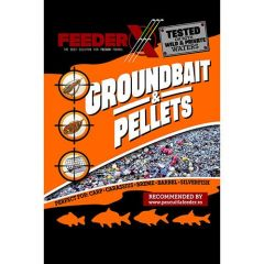 Nada FeederX Super Scobar Dark 900g