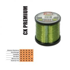 Fir fluorocarbon coated P-Line CX Premium Moss Green 0,28mm/7,95kg/1000m
