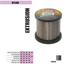 Fir monofilament P-Line Extrusion Smoke Silver  0,23mm/6.40kg/1000m