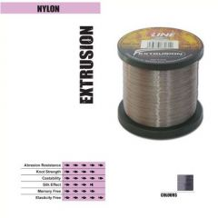 Fir monofilament P-Line Extrusion Smoke Silver 0,23mm/6,40kg/2000m