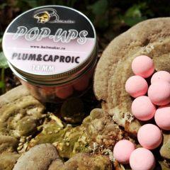 Boilies Baitmaker Pop-Ups 14mm - Plum&Caproic Acid