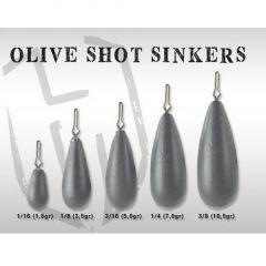 Plumbi Colmic Herakles Olive Shot Sinkers 3.5g